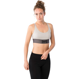 super.natural Motion Top Mujer, gris
